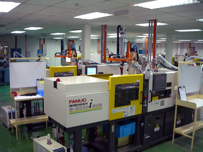 Fanuc roboshot mold injection machine
